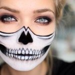 half-skull-face-halloween-makeup