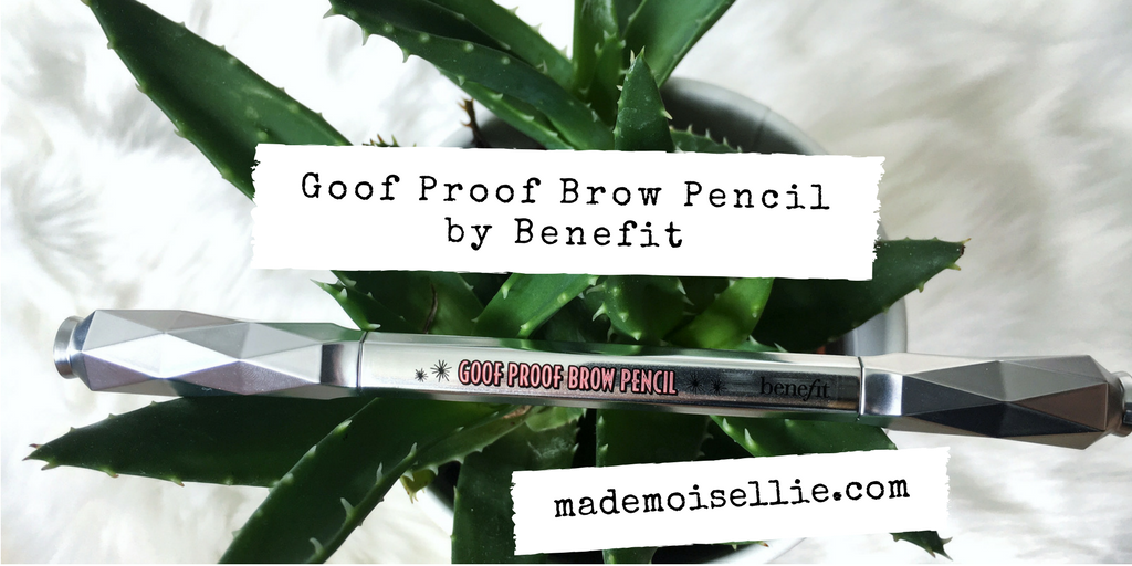 Goof proof brow by Benefit