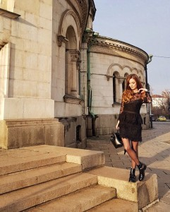outfit black lace