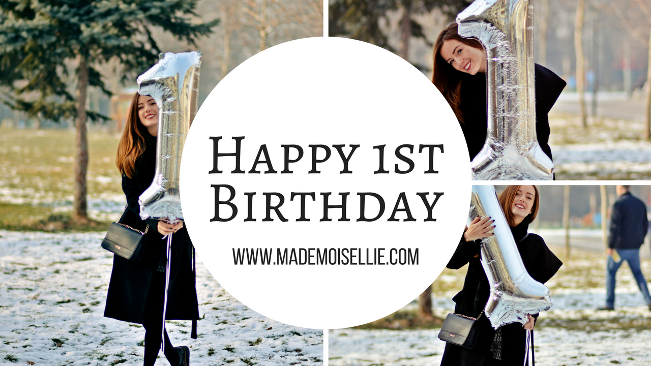 happy birthday mademoisellie one year