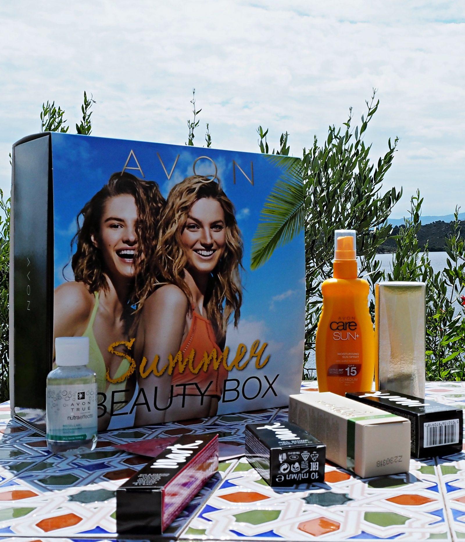 avon summer box